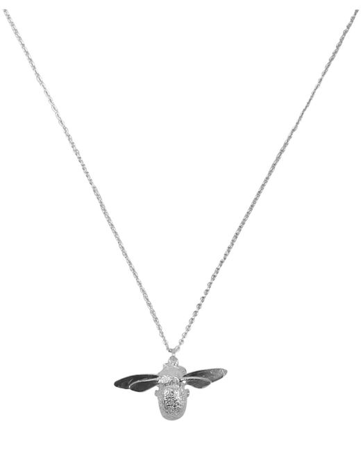 Alex Monroe - Metallic Little Horseshoe Necklace - Lyst