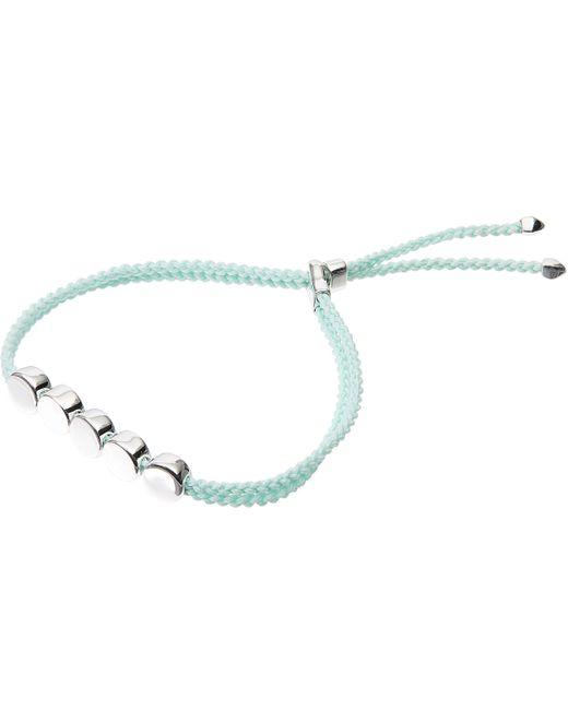 Monica Vinader | Multicolor Silver Linear Bead Friendship Bracelet | Lyst