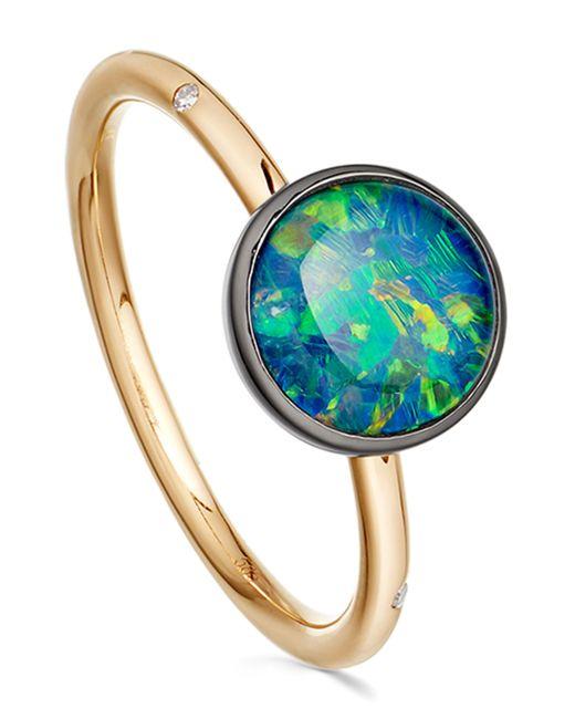 Astley Clarke | Metallic Opal Uranus Ring | Lyst