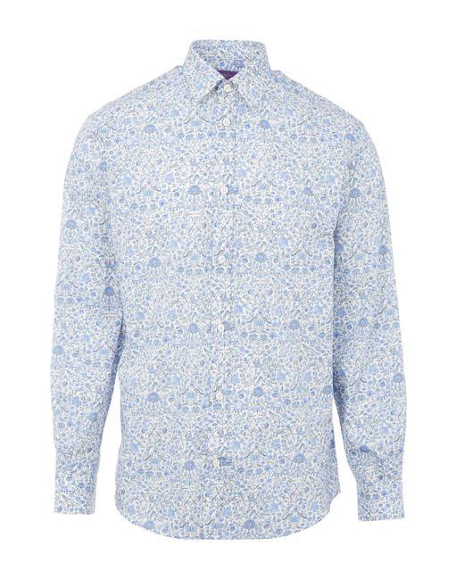 Liberty - Blue Imran Mens Shirt for Men - Lyst