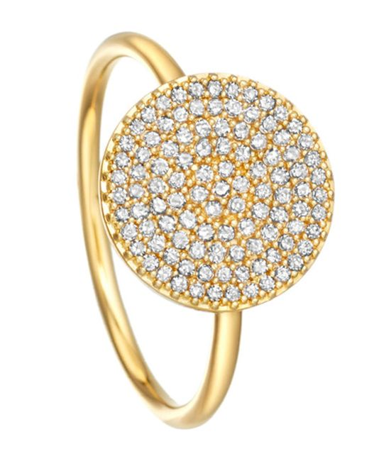 Astley Clarke - Metallic Icon 14ct Yellow-gold Ring - Lyst