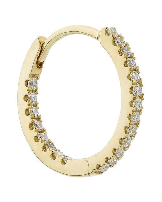 "Maria Tash - Metallic 3/8"" Diamond Eternity Earring - Lyst"