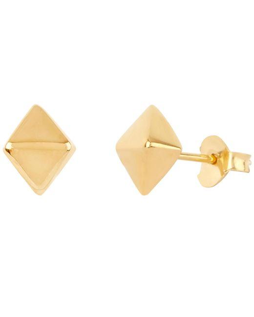 Dinny Hall - Metallic Gold Vermeil Mini Almaz Stud Earrings - Lyst