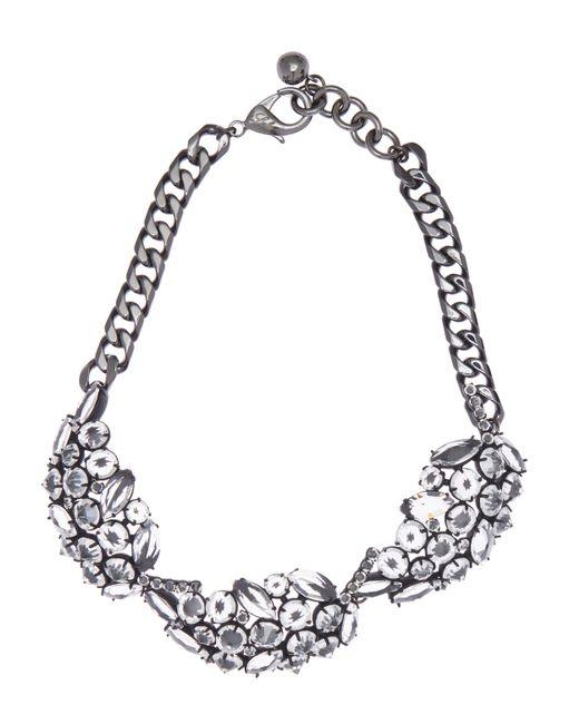 Lulu Frost | Metallic Diamanda Leaf Collar Necklace | Lyst