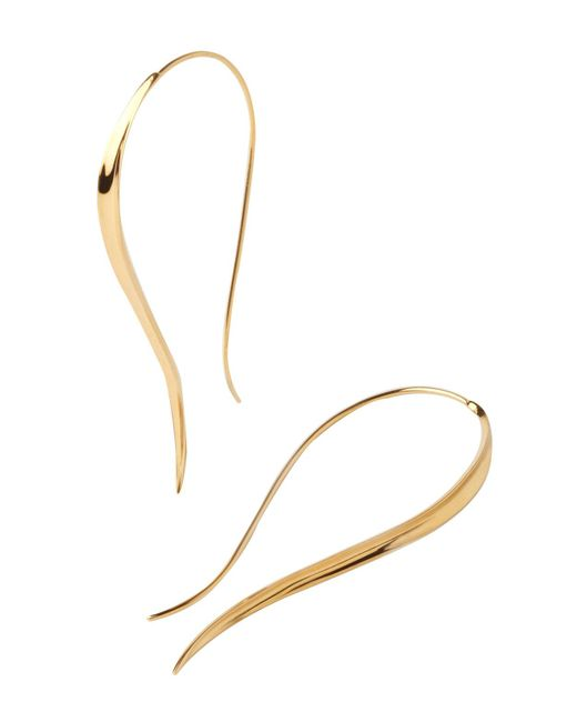 Dinny Hall - Metallic Signature Hook Hoop Earrings - Lyst