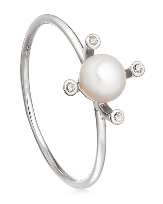 Astley Clarke   White Pearl Pluto Ring   Lyst
