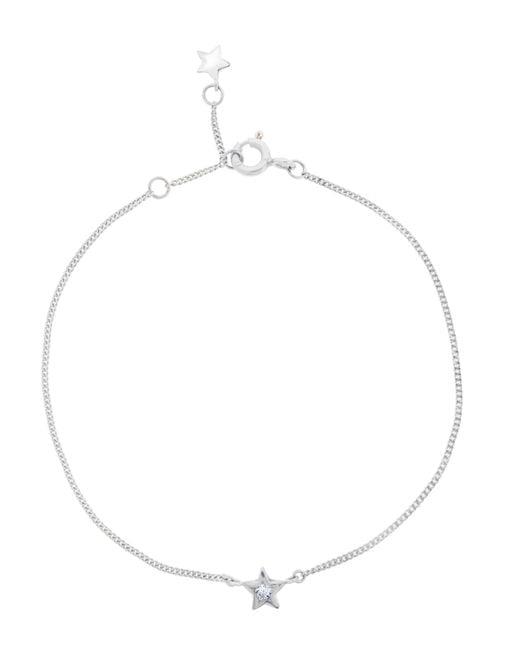 Dinny Hall   White Gold Diamond Star Bracelet   Lyst