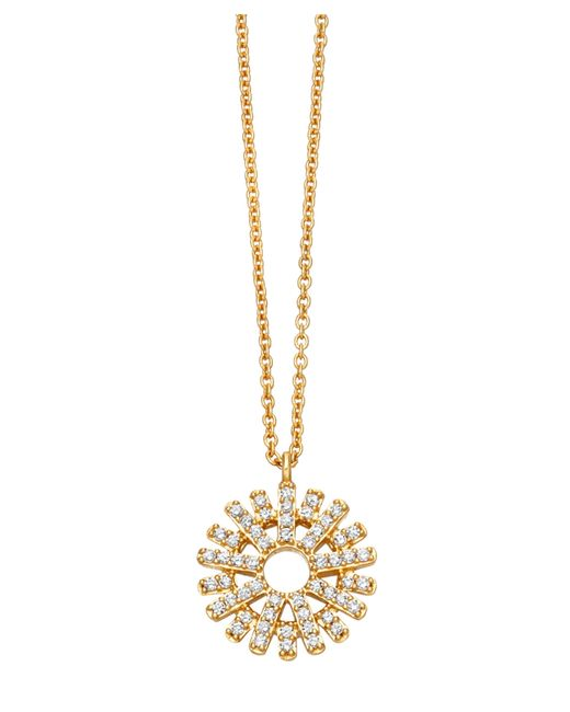 Astley Clarke | Metallic Rising Sun Lattice Diamond Pendant | Lyst