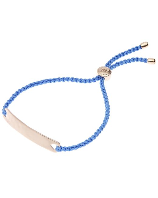 Monica Vinader - Blue Rose Gold-plated Havana Friendship Bracelet - Lyst