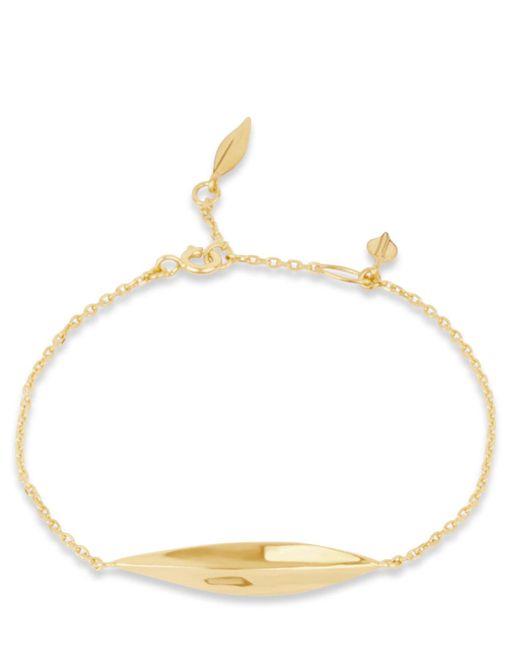 Dinny Hall | Metallic Gold-plated Lotus Bracelet | Lyst