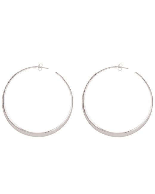 Dinny Hall - Metallic Silver Signature Large Hoop Earrings - Lyst