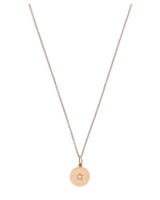 Andrea Fohrman | Metallic Rose Gold Full Moon Diamond Phases Necklace | Lyst