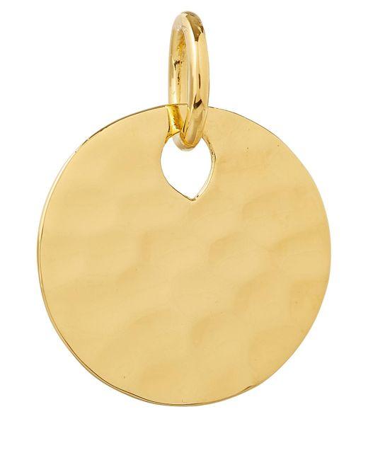 Monica Vinader - Metallic Gold Vermeil Ziggy Round Pendant Charm - Lyst