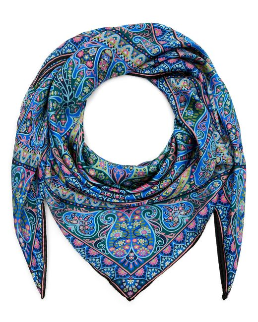 Liberty - Blue Andromeda 135 X 135 Silk Scarf - Lyst