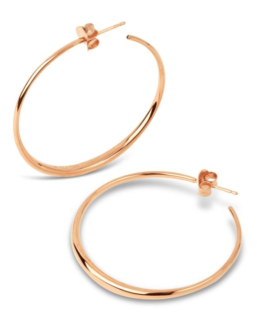 Dinny Hall - Metallic Medium Signature Hoop Earrings - Lyst