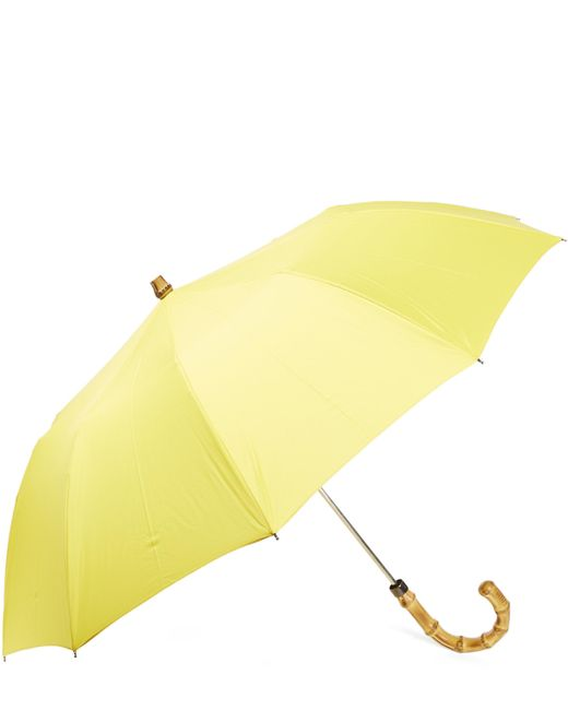 London Undercover | Yellow Whangee-handle Telescopic Umbrella | Lyst