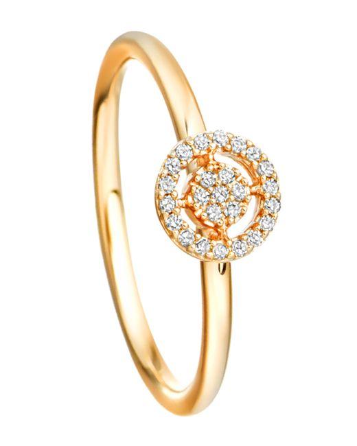 Astley Clarke - Metallic Gold Mini Icon Aura Diamond Ring - Lyst