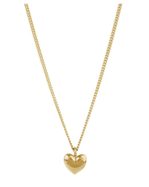 Dinny Hall - Metallic Gold-plated Bijou Heart Pendant Necklace - Lyst