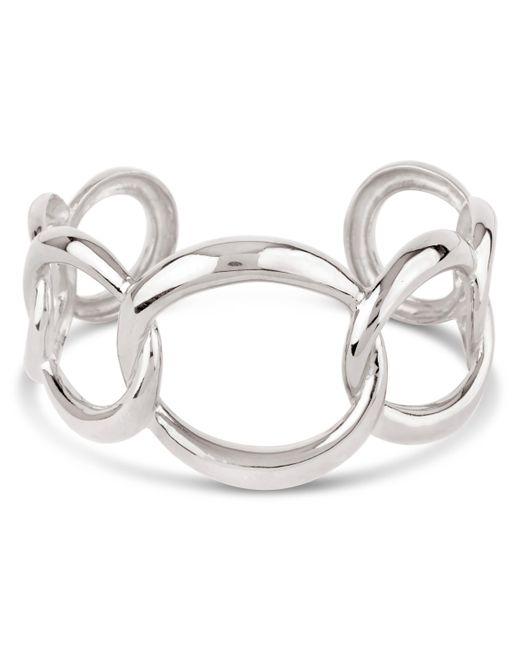 Dinny Hall | Metallic Wave Chain Bangle | Lyst