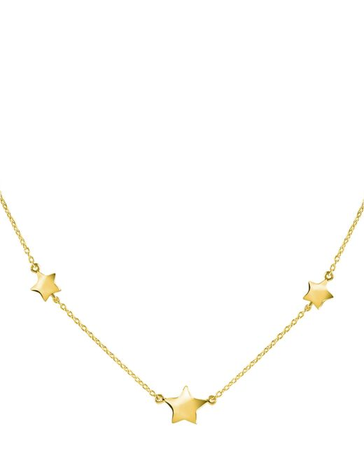 Dinny Hall - Metallic Gold-plated Bijou Three Star Necklace - Lyst