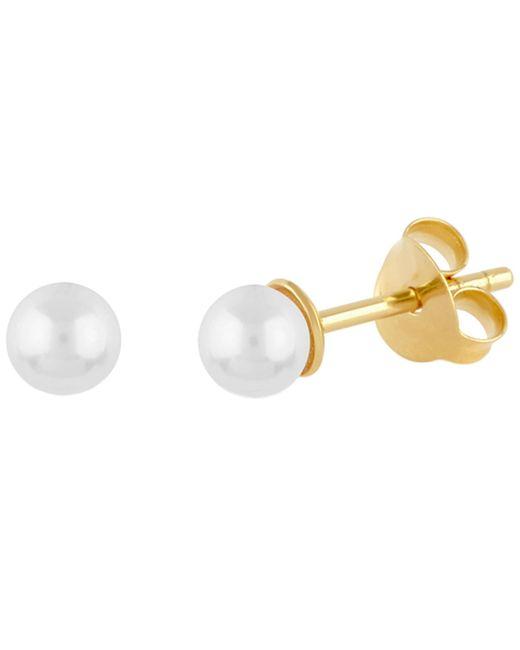 Dinny Hall - Metallic Gold Vermeil Pearl Stud Earrings - Lyst