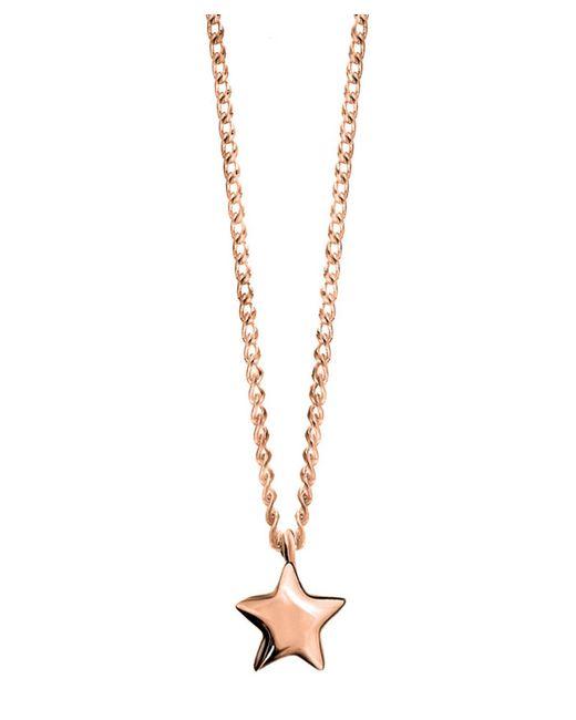 Dinny Hall - Metallic Rose Gold-plated Bijou Star Pendant Necklace - Lyst