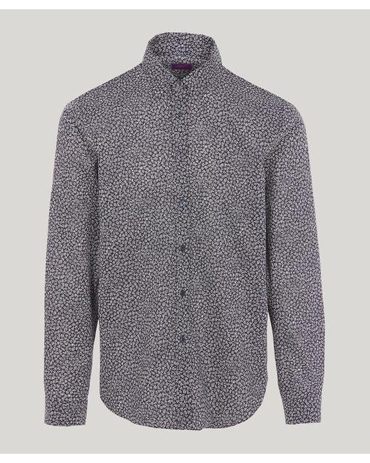 091c61ca880 Liberty - Blue Lewin Tana Lawn Cotton Long-sleeved Lasenby Shirt for Men -  Lyst ...