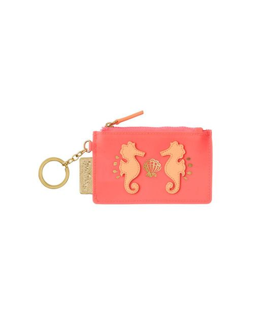 Lilly Pulitzer | Pink Jelly Coin Case | Lyst
