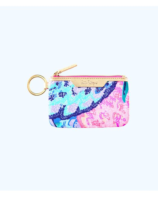 Lilly Pulitzer - Pink Key Id Card Case - Lyst