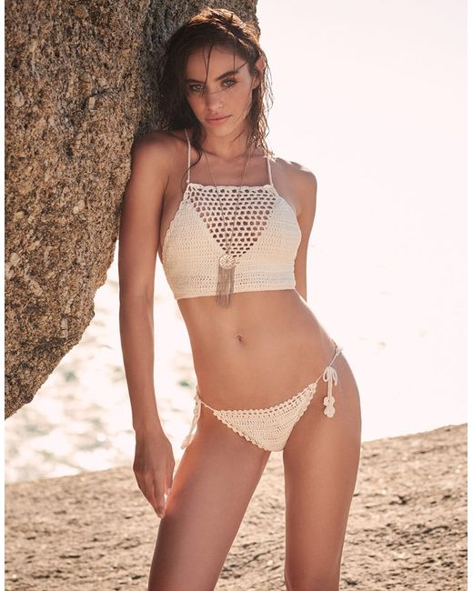 crochet bikini top instructions