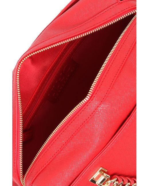 Liu Jo | Red 'anna' Regular Boston Bag | Lyst