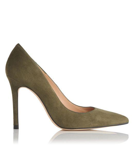L.K.Bennett - Multicolor Fern Green Suede Heels - Lyst