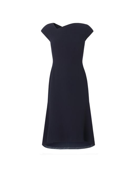 L.K.Bennett - Blue Ire Petite Navy Dress - Lyst