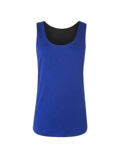 L.K.Bennett | Blue Teal Reversible Vest | Lyst