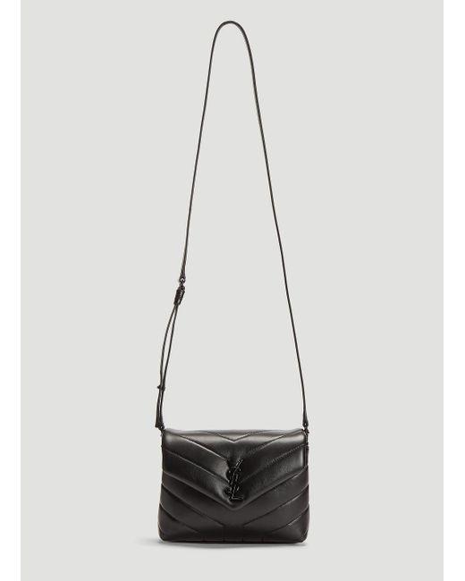 Lyst - Saint Laurent Lou Lou Monogrammed Shoulder Bag In Black in Black 5824d0d7bf01c