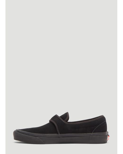 5235f4e08d91 ... Vans - Anaheim Factory Touch Strap Slip-on Sneakers In Black for Men -  Lyst ...