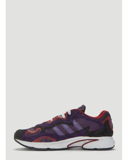 check out 49fbe d6ce2 ... Adidas - Temper Run Sneakers In Purple for Men - Lyst ...