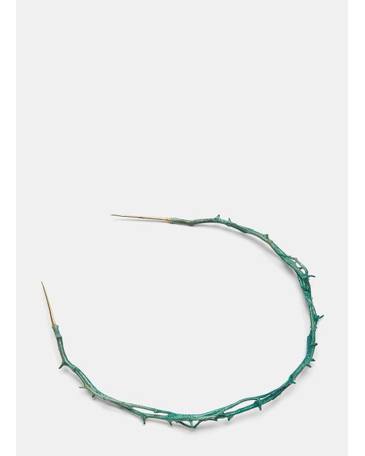 Pearls Before Swine | Thorn Clasp Choker In Green | Lyst