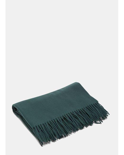 Acne | Unisex Canada Wool Scarf In Green | Lyst