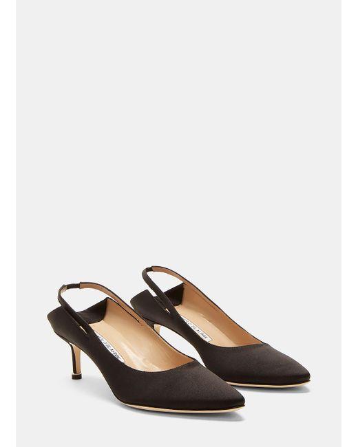 vetements black x manolo blahnik shoes lyst