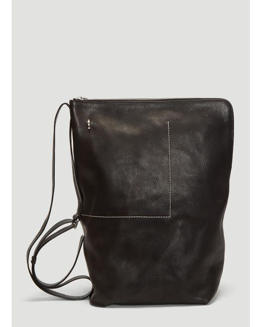 Lyst - Rick Owens Babel Bucket Backpack In Black in Black for Men 358f4e4b86dee