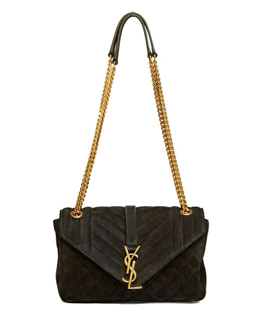 Innovative Saint Laurent Classic Medium Monogram Saint Laurent Universitu00e9 Bag In Black Leather | YSL.com
