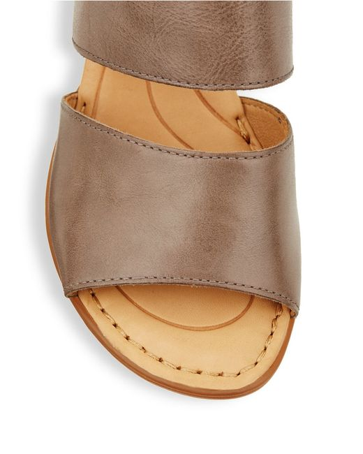 Born Ahna Buckle Sandals In Brown Save 7 Lyst