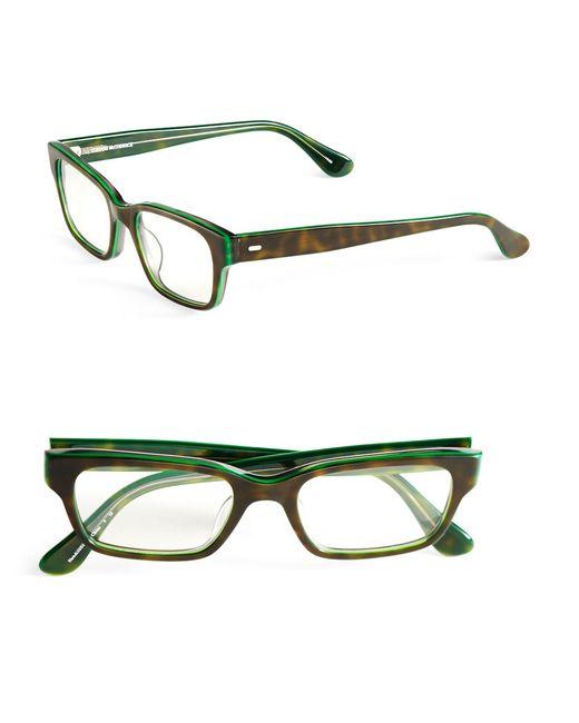 corinne mccormack 51mm sydney reading glasses in green lyst