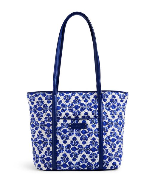 Vera Bradley | Blue Small Quilted Duffel Bag | Lyst
