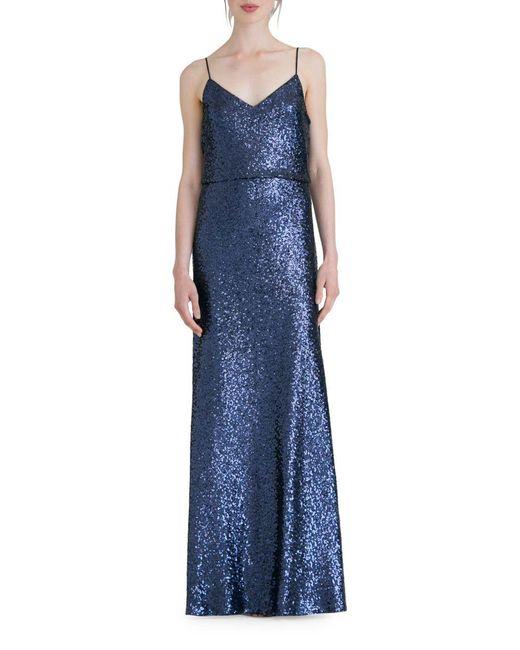 Jenny Yoo - Blue Jules Sleeveless Dress - Lyst