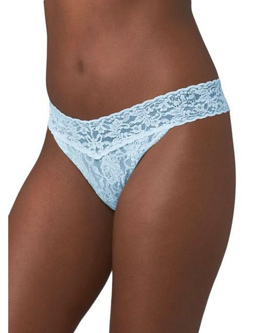 Hanky Panky | Blue Bridal I Do Original Rise Thong | Lyst