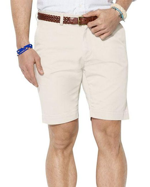 Polo Ralph Lauren | Natural Classic-fit Chino Shorts for Men | Lyst