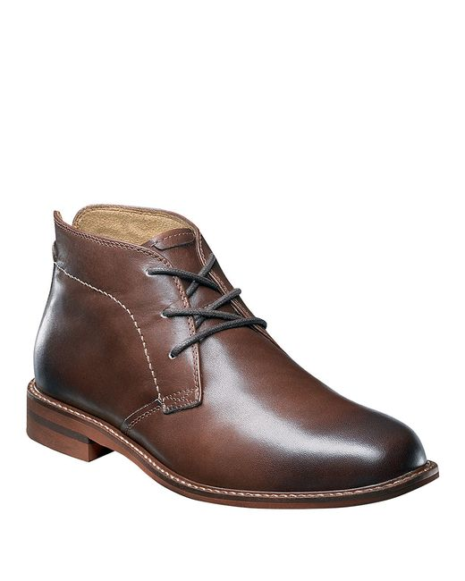 Florsheim | Brown Doon Leather Chukka Boots for Men | Lyst