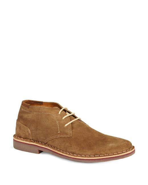 Kenneth Cole Reaction | Brown Desert Sun Leather Shoes for Men | Lyst